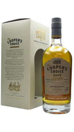 Invergordon - Coopers Coich Single Cask - 1987 33 year old Whisky