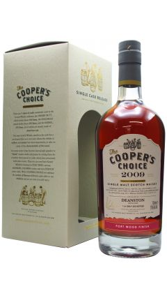 Deanston - Coopers Choice Single Cask Port Finish - 2009 11 year old Whisky