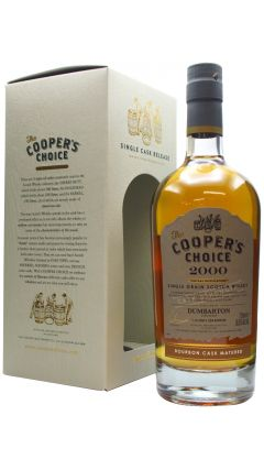 Dumbarton (silent) - Coopers Choice Single Cask - 2000 20 year old Whisky