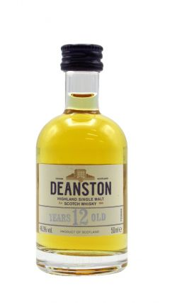 Deanston - Highland Single Malt Scotch Miniature 12 year old Whisky