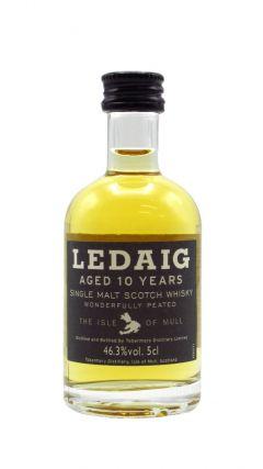 Ledaig - Single Malt Scotch Miniature 10 year old Whisky
