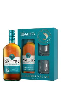 Dufftown - Gift Pack - 2 x Glasses The Singleton 12 year old Whisky