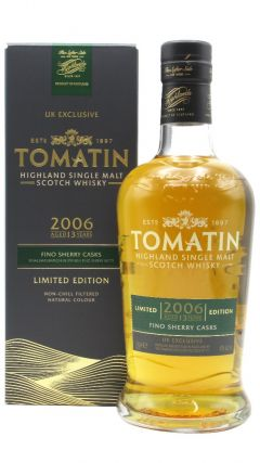 Tomatin - UK Exclusive - Fino Sherry Cask Finish  - 2006 13 year old Whisky