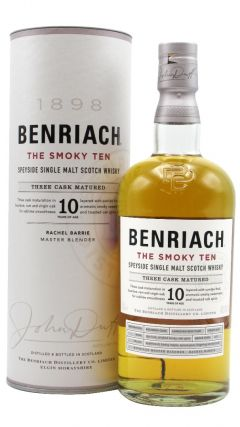 BenRiach - The Smoky Ten - Three Cask Matured 10 year old Whisky