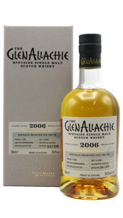 GlenAllachie - Single Cask #111860 - 1st Fill Bourbon Cask - 2006 13 year old Whisky