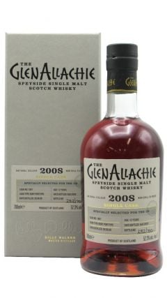 GlenAllachie - Single Cask #1867 - Port Cask - 2008 12 year old Whisky