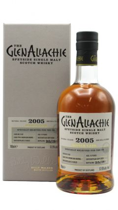 GlenAllachie - Single Cask #5182 - Virgin Oak - 2005 15 year old Whisky