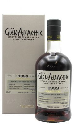 GlenAllachie - Single Cask #6118 - Sherry Cask - 1989 31 year old Whisky