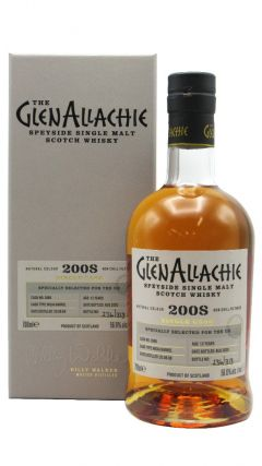GlenAllachie - Single Cask #3966 - Rioja Wine Cask - 2008 12 year old Whisky