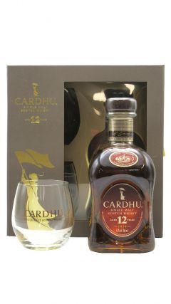Cardhu - Single Malt Scotch & 2 Glasses Gift Set 12 year old Whisky