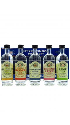 City Of London Distillery - The London Collection - Tasting Pack Gin