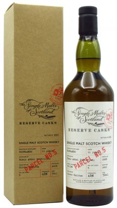 Blair Athol - Single Malts of Scotland - Reserve Casks - Parcel No. 5 - 2009 11 year old Whisky