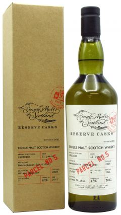 Mannochmore - Single Malts of Scotland - Reserve Casks - Parcel #5 - 2009 11 year old Whisky