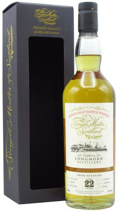Longmorn - Single Malts of Scotland Cask #163301 - 1997 22 year old Whisky