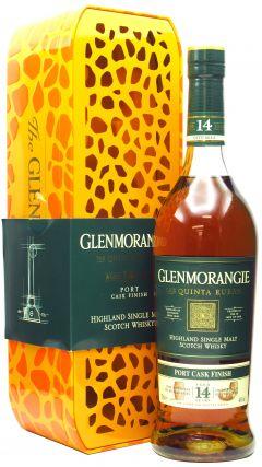 Glenmorangie - Quinta Ruban - Giraffe Tin 14 year old Whisky