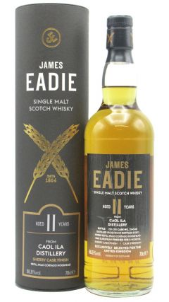 Caol Ila - James Eadie Palo Cortado Sherry Cask Finish Single Malt  - 2007 11 year old Whisky