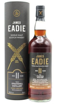 Strathmill - James Eadie Oloroso Sherry Cask Finish Single Malt  11 year old Whisky