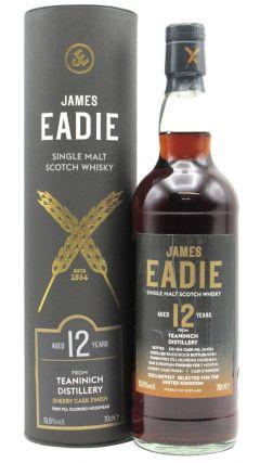 Teaninich - James Eadie Oloroso Sherry Cask Finish Single Malt 12 year old Whisky
