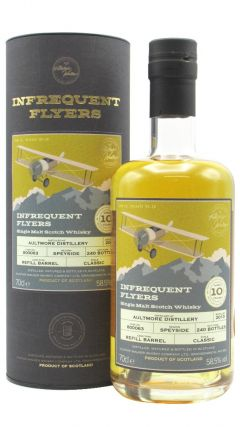Aultmore - Infrequent Flyers Single Cask #800063 - 2010 10 year old Whisky
