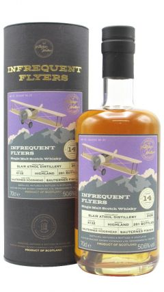 Blair Athol - Infrequent Flyers Single Cask #6132 - 2006 14 year old Whisky