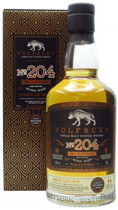 Wolfburn - No. 204 Small Batch  Whisky