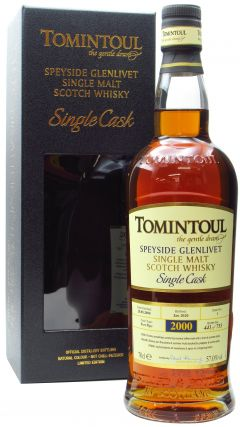 Tomintoul - Single Cask #1 Port Pipe - 2000 19 year old Whisky