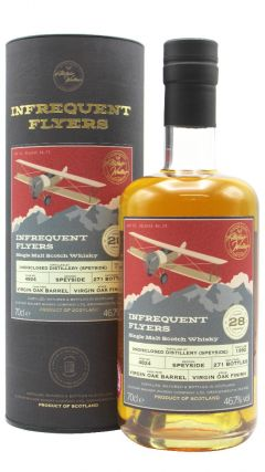 Infrequent Flyers - Undisclosed Distillery (Speyside) Single Cask #4824 - 1992 28 year old Whisky