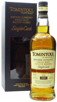 Tomintoul - Single Cask #37 - 2001 19 year old Whisky