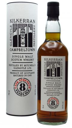 Kilkerran - Cask Strength 8 year old Whisky