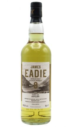 Caol Ila - James Eadie Small batch Release 8 year old Whisky