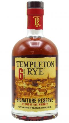 Templeton - Signature Reserve Rye 6 year old Whiskey