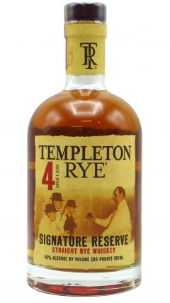 Templeton - Signature Reserve Rye 4 year old Whiskey