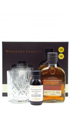 Woodford Reserve - Old Fashioned Cocktail Syrup Giftpack & 20cl Bourbon Whiskey