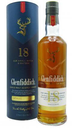 Glenfiddich - Speyside Single Malt 18 year old Whisky