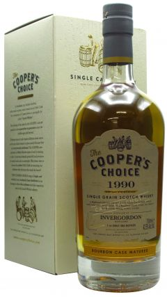 Invergordon - Cooper's Choice - Bourbon Cask - 1990 30 year old Whisky