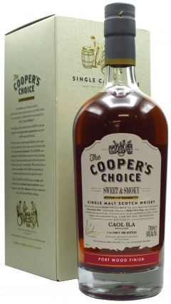 Caol Ila - Cooper's Choice - Sweet & Smoky Port Wine Finish - 2008 Whisky