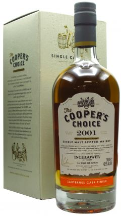 Inchgower - Cooper's Choice - Sauternes - 2001 19 year old Whisky