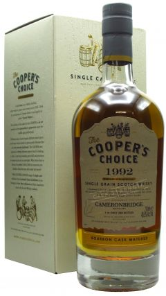 Cameronbridge - Coopers Choice - Bourbon Cask - 1992 28 year old Whisky