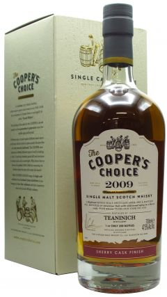 Teaninich - Cooper's Choice - Sherry Finish - 2009 11 year old Whisky
