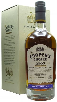 Tomintoul - Cooper's Choice - Marsala Wine Finish - 2005 15 year old Whisky