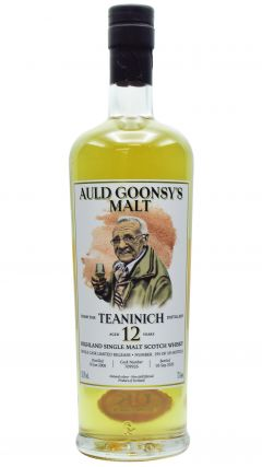 Teaninich - Auld Goonsys Single Cask #709926 - 2008 12 year old Whisky
