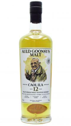 Caol Ila - Auld Goonsy's Single Cask #309900 - 2008 12 year old Whisky