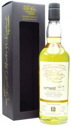 Glen Elgin - Single Malts Of Scotland Single Cask #801513 - 2007 12 year old Whisky