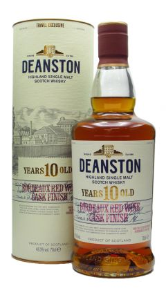 Deanston - Bordeaux Finish 10 year old Whisky