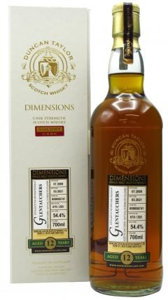 Glentauchers - Dimensions Single Cask #859006741 - 2008 12 year old Whisky
