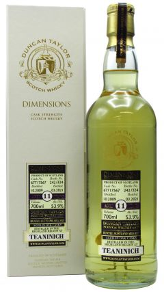 Teaninich - Dimensions Single Cask #67717567 - 2009 11 year old Whisky
