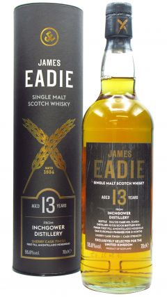 Inchgower - James Eadie Single Cask - Sherry Cask 13 year old Whisky