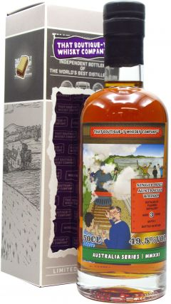 Fleurieu - That Boutique-Y Whisky Company Batch #1 3 year old Whisky