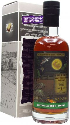 Black Gate - That Boutique-Y Whisky Company Batch #1 3 year old Whisky