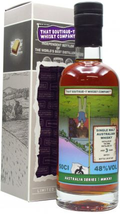 Tin Shed - That Boutique-Y Whisky Company Batch #1 3 year old Whisky
